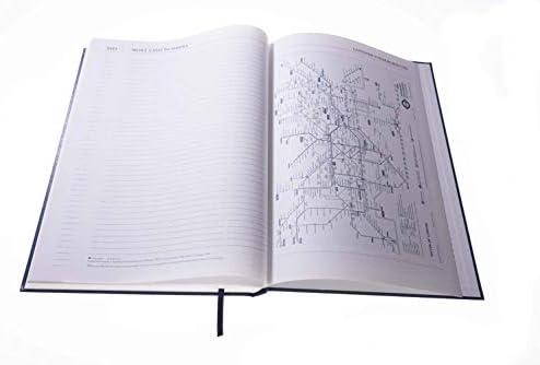 Collins Desk 2020 Terminplaner A4, 1 Tag pro Seite, Schwarz