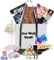 Get Well Stuff Games & Gift Card Set Tote