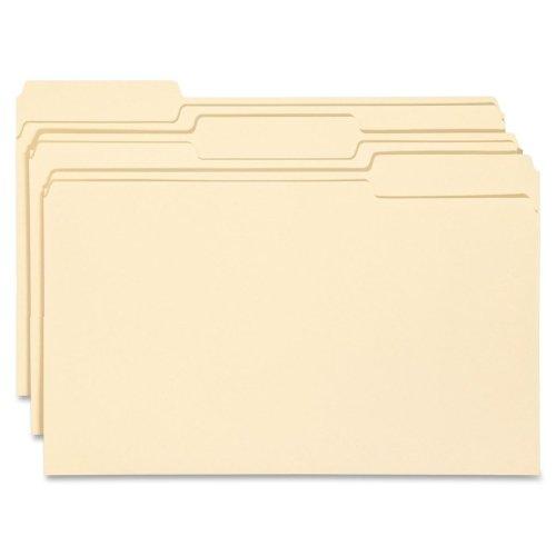 Wholesale CASE of 10 - Smead 1/3 Cut Manila File Folders-File Folders, 1/3 Ast Tab Cut, 1 Ply, Legal, 100/BX, MLA ()