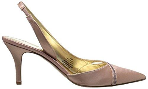 Gold Satin Pump (Nine West Women's Kowder Satin Dress Pump, Light Gold, Size 7.0)