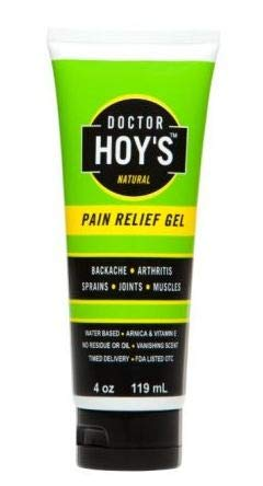 Doctor Hoy's Natural Pain Relief Gel, 4-Ounce - Ointment Hamamelis
