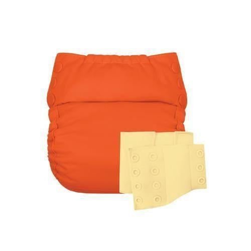 Flip Reusable Potty Training Cloth Diaper - Shell with Side Panels ()
