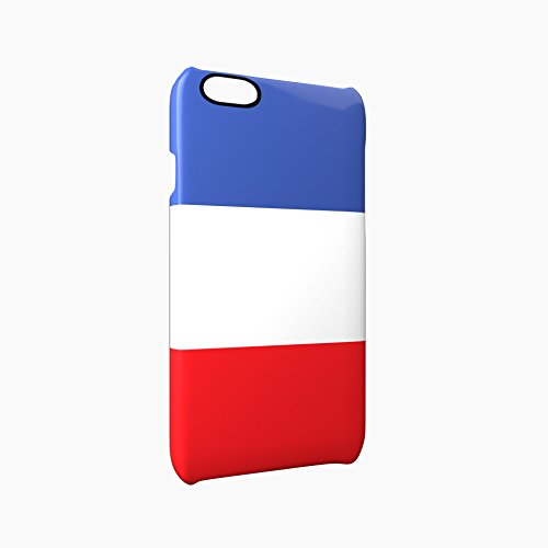 Flag of France Glossy Hard Snap-On Protective iPhone 6 Plus + / 6S Plus + Case Cover