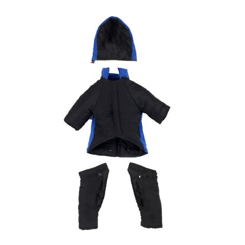 Snowsuit for Dogs, With Legs, Covers Chest and Belly XXL Fit Great Dane