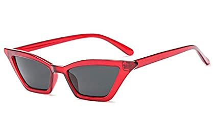 312c74af254 Image Unavailable. Image not available for. Colour  Shopystore Wine Red  Vintage Sunglasses Women Cat Eye Luxury Brand ...