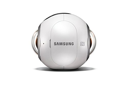 Samsung Gear 360 Real 360° High Resolution VR Camera (US Version with Warranty)