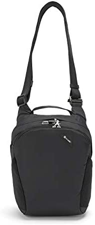 Pacsafe Vibe 300 Anti Theft Travel Shoulder Bag, Black