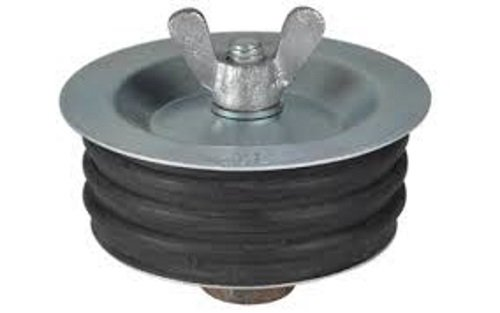 IPS 88389 4-Inch Metal Wing Nut Test Plug, 1-Pack