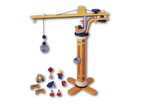 Plan Toys Crane (PlanToys PlanCity Crane Set)
