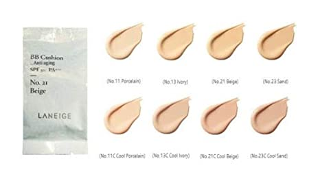 Buy Laneige New Bb Cushion Anti Aging Spf50 Pa Only Refill