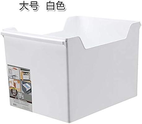 Caja de almacenamiento de papel A4 escritorio grande archivo de ...