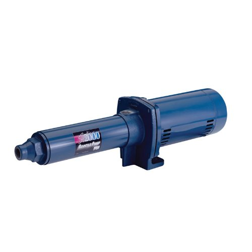 Sta-Rite HP20F-02 Signature 2000 Booster 1-1/2 HP Pump (Sta Rite Booster Pump)