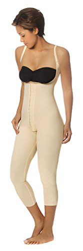 1st Stage, High-Back Girdle With Slide Adjustable Straps And Mid-Calf Coverage