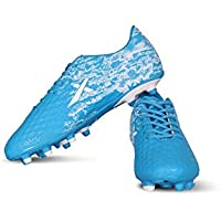 Vector X Turbo Football Shoes (Blue-White)