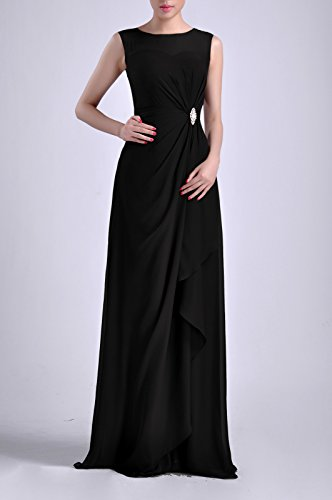 Mother of Bride with Black Bridesmaid Dresses