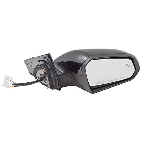 BROCK Passengers Power Side View Mirror Heated Signal Blind Spot Detection for 15-17 Hyundai Sonata replaces 87620C2020 HY1321236 128-65083CR
