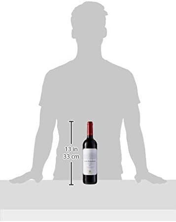 Las Pisadas, Vino Tinto, 75 cl - 750 ml