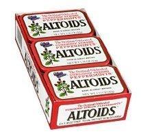 Altoids Peppermint Mints, 1.76 oz, 6-Count (Pack of 3)