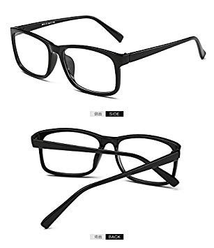 356cf253746 VCKA 2017 New Eyeglasses Men Women Square Eye Glasses  Amazon.in   Electronics