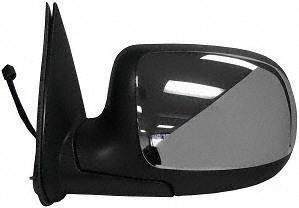 02 Power Side Mirror (99-02 CHEVY CHEVROLET SILVERADO PICKUP MIRROR LH (DRIVER SIDE) TRUCK, Power, Non Heated, Folding Type, Chrome (1999 99 2000 00 2001 01 2002 02) GM59EL)