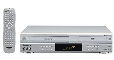 Panasonic PV-D4743S Progressive-Scan DVD-VCR Combo , Silver