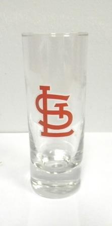 (St. Louis Cardinals Logo Shot Glass - 2 oz.)