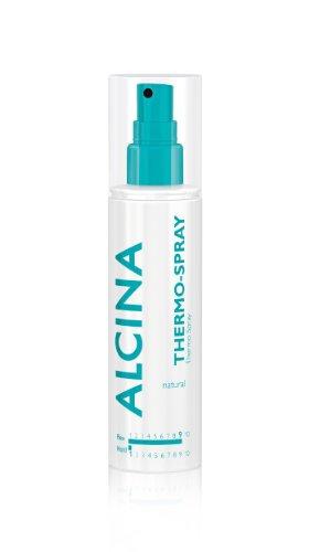 Alcina Styling Natural - Thermo-Spray Bietet zuverlässigen Schutz vor Struktur- & Hitzeschäden - 125 ml