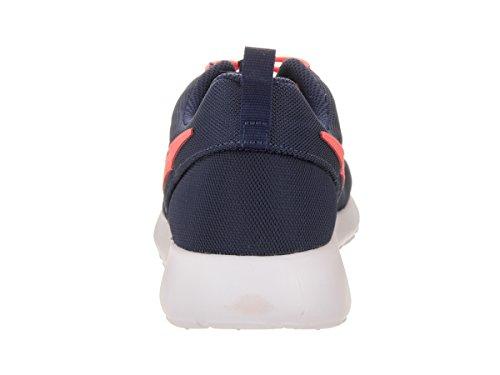 bleu Basses gs Garçon Blanc Nike Sneakers Marine rose Rosherun 60qWP4