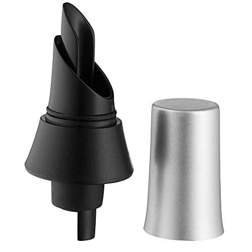 WMF Clever & More Vertedor con tapón, Silicona, Sintético, Acero Inoxidable Pulido