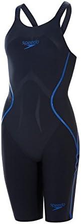 Speedo LZR Racer X Openback Kneeskin - Navy/Beautiful Blue イギリスサイズ20