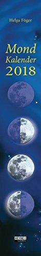 Mondkalender 2018: Streifenkalender