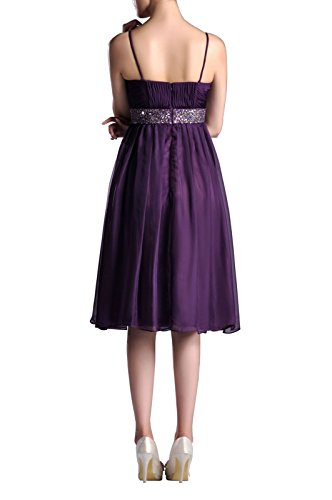 Line Tea Length Adorona Dresses Sunbeam Women's a Chiffon EqqBRX