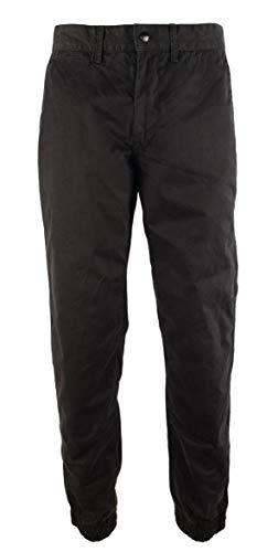 Polo Ralph Lauren Men's Straight Fit Twill Jogger Pants-PB-38Wx34L Polo Black (Jeans Black Ralph Lauren Label)