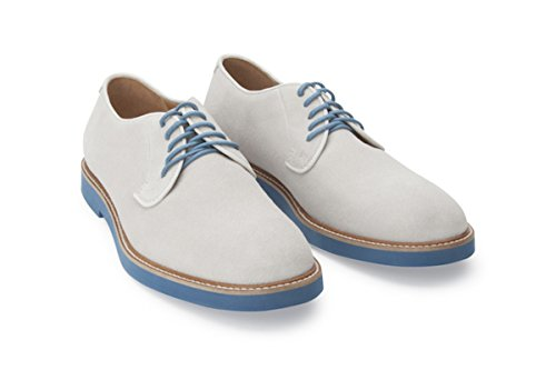 Soul36 Men's The Grant Lace Up EVA Color Sole 100% All Leather Handmade Oxfords Off White buy cheap low shipping fee footaction cheap price nViP03f