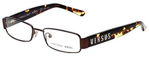 Versus Designer Reading Glasses 7061-1045 in Brown (Versus Eyeglass Frames)
