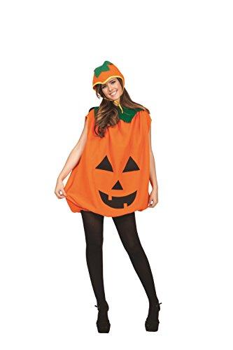 RG Costumes Unisex Pumpkin Romper Adult, Orange/Green, One