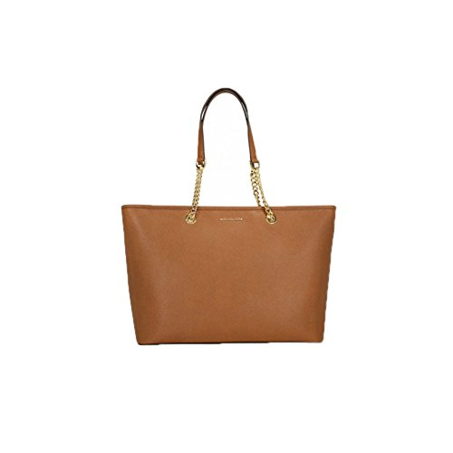 2d47e46734b6 Michael Kors Women s Jet Set Travel Medium Saffiano Leather Tote Bag ...