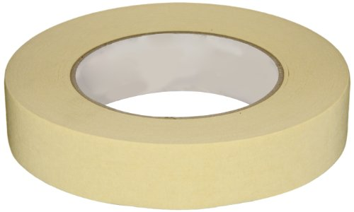 Intertape PG16 High Temp Medium Grade Paper Masking Tape, 24MM X 54.8M (Case of 36 Rolls)