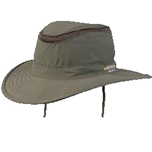 Tarpon Springs Floating Sailing Hat Olive Medium