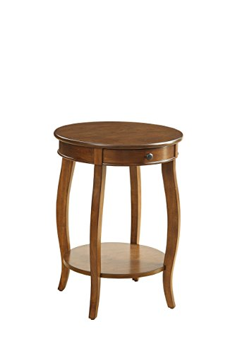 Acme Furniture 82814 Alysa Side Table, One Size, Cherry (Cherry Table Furniture Acme)