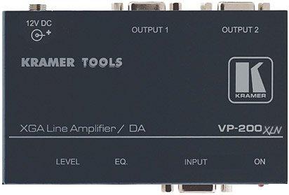 (Kramer Electronics 1:2 VGA/UXGA Computer Graphics Video Line & Distribution Amplifier, 400MHz Bandwidth)