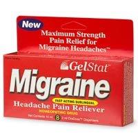 GelStat Migraine 8 Count