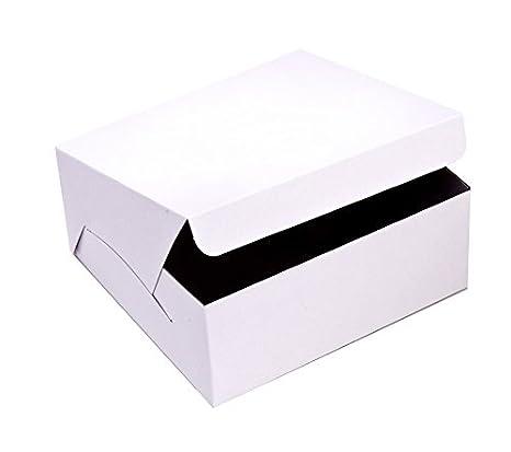 Amazon.com: SafePro 10103, cajas de cartón para tartas de 10 ...
