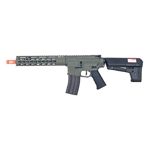 KRYTAC Trident MK2 CRB: AEG/Black / 6mm Airsoft Gun/Rifle (Forest Green)