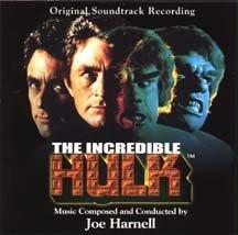 Original album cover of The Incredible Hulk: Original Soundtrack Recording by Original Soundtrack Recording