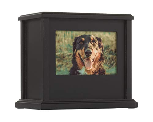 Traditional Pet Urn, Black from Pearhead