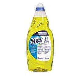 Procter & Gamble 608-84988224 Dawn Dishwashing Liquid, Lemon Scent, 38 fl. oz. Bottle (Pack of 8)