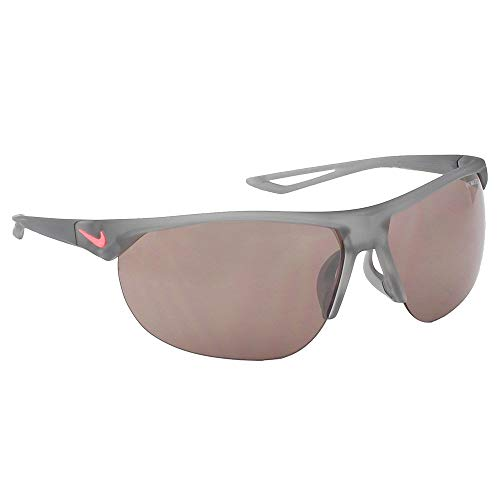 Nike EV0938-012 Cross Trainer E Sunglasses (Speed Tint with Silver Flash Lens), Matt Wolf Grey ()