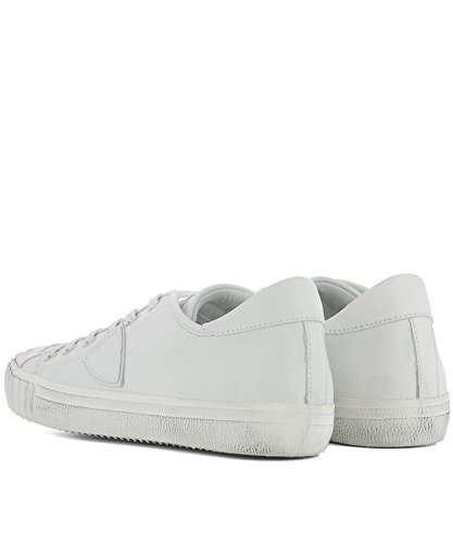 Philippe Model Herren GRLUV001 Weiss Leder Sneakers