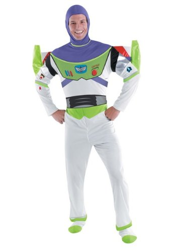 Deluxe Buzz Lightyear Adult Costume - X-Large (Buzz Lightyear Costume Girls)